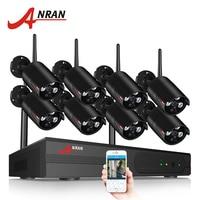 ANRAN Wireless CCTV System 1080P 8CH NVR Kit HD H.265 IP Camera Wifi Home Security Night Vision Video Surveillance Kit