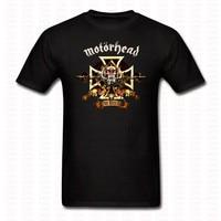Schwere Metall Motörhead T-shirt Lustige Punk O Neck Kurze Sleeve Cotton T-shirt Neuheit Männer Frauen Bedruckt Casual Shirts Marke Tops