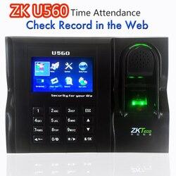 Software Web IE servidor ver registros ZKTeco U560 ZK empleado tiempo de asistencia Web IE servidor navegar registros dedo contraseña