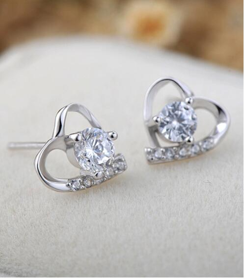 New  high quality S925 silver earrings fashion geometric hollow pierced earrings for couples gifts  FE01New  high quality S925 silver earrings fashion geometric hollow pierced earrings for couples gifts  FE01