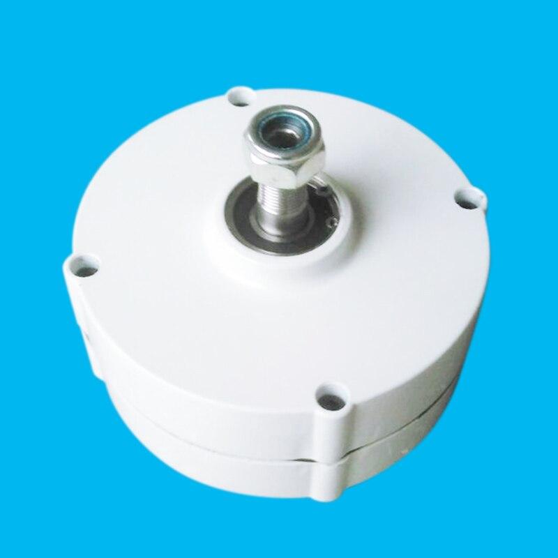 Low rpm 3 phase AC output generator 100w 12v/24v permanent magnet generator