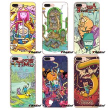 For Huawei G7 G8 P7 P8 P9 Lite Honor 4C 5X 5C 6X Mate 7 8 9 Y3 Y5 Y6 II 2 Pro 2017 Adventure Time Art Poster Soft Phone Case(China)