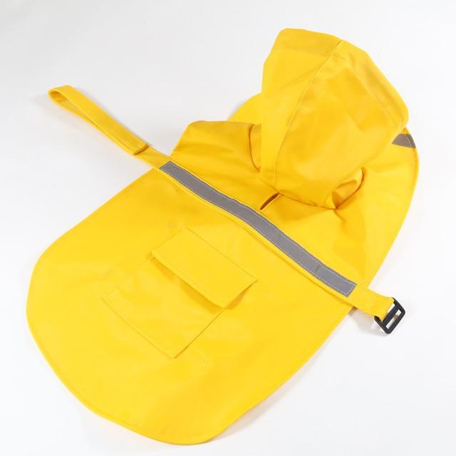 Reflective Large Dog Raincoat  1