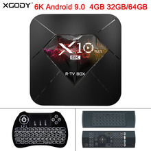 XGODY 2019 X10 Plus 6K Android 9.0 Smart TV Box Allwinner H6