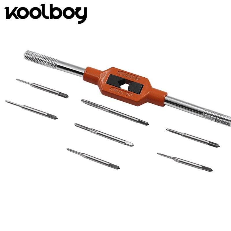 Handwerkzeuge Hss Micro Maschine Tap Mini Tap M0.3 M0.4 M0.5 M0.6 M0.7 M0.7 M0.9 Für Uhr Indusctry Mit Gerade Flöte Werkzeuge