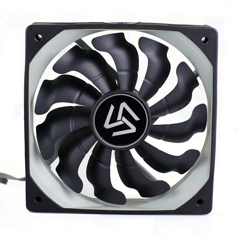 S-120 computer fan radiator 120mm CPU cooler fan 1200RPM 3 pin DC 12v fan for computer case cooling for ALSEYE