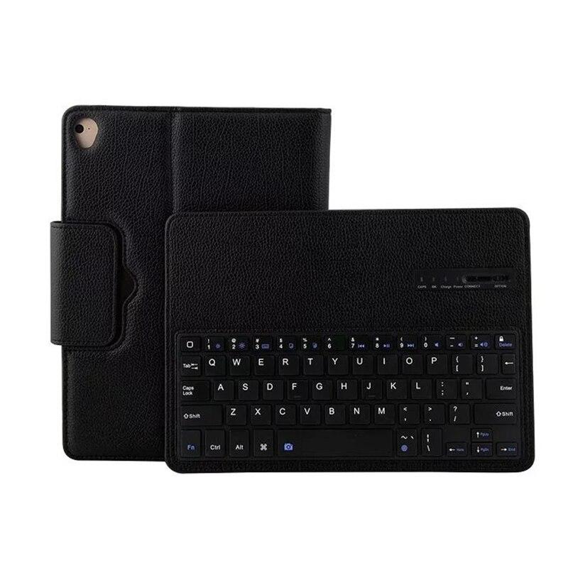 For iPad Air Air 1 Air 2 Pro 9.7 Keyboard Case Wireless Bluetooth Keyboard Leather Tablet Folio Cover for iPad 5 iPad 6 Funda