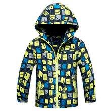Boy's Autumn Waterproof Windproof Jacket