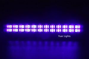 Image 5 - 24 Đèn LED UV Màu Đèn Led Pha Rửa Hiệu Ứng Đèn 90 240V Hoàn Hảo Cho DJ Disco Đèn Gia Đình laser Trang Trí UV Đèn Led Thanh