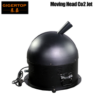 Gigertop 360 Degree Rotate C02 Jet Machine Cover 8 10 Meter Area Import Electrical Valve Support Long Time Jet DMX512 3 Channels