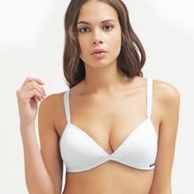 Victoria de La Mascarada del Envío Algodón de Alambre Sujetador Esencial de Las Niñas Adolescentes BH Tamaño Pequeño Bikini Bralette Triángulo Para Las Mujeres Ab taza