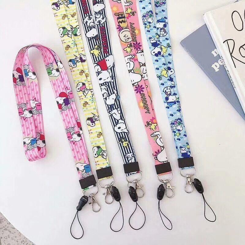 TJHSZKL Anime Cute Cartoon Neck Strap Lanyard For Keys ID Card Gym Mobile Phone Straps USB Badge Holder DIY Hang Rope