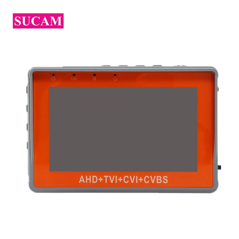 SUCAM 4 IN 1 1080P CCTV Tester 4.3 Inch Mini Small Size Monitor for Testing High Definition AHD CVI TVI Analog CVBS Camera 4 in 1 ir high speed dome camera ahd tvi cvi cvbs 1080p output ir night vision 150m ptz dome camera with wiper