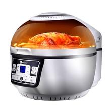 Воздушный фритюрница, Домашний Светильник, духовка, интеллектуальная большая емкость, многофункциональная электрическая сковорода, безмасляная жарочная машина, HA-01A