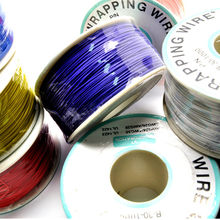 250m/lots 820ft 30 AWG Wrapping 10 Colors PCB Single Strand Copper Cable Ok Electrical Wire OD 0.55MM