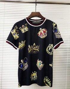 European style Men/women's casual Tee  Hot fashion print T shirts S-3XL size A392