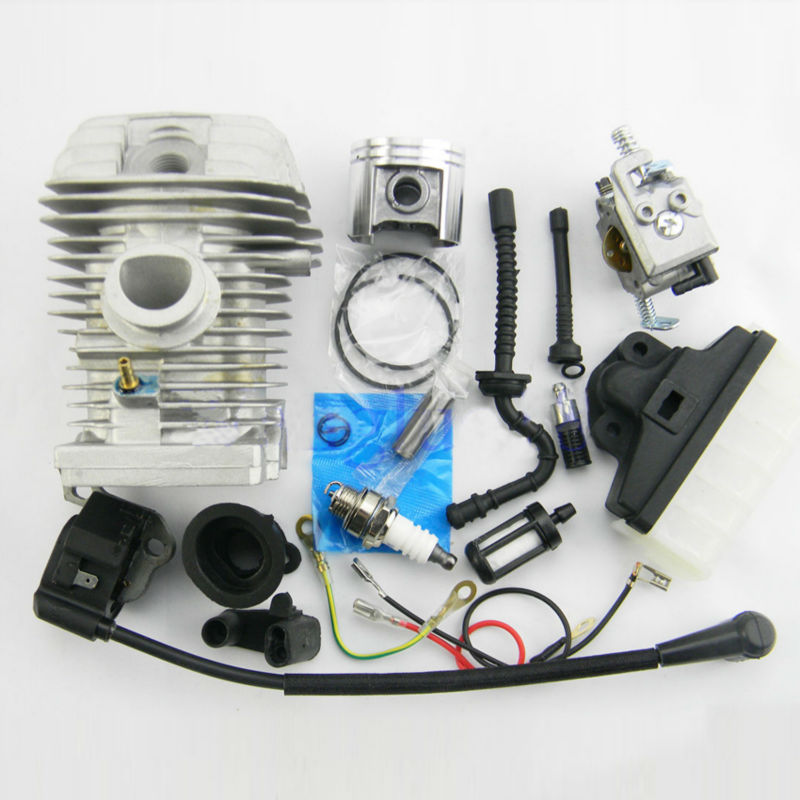 42.5mm Cylinder repair parts Ignition Coil Carburetor Carb for Stihl 023 MS230 025 MS250 Chain saw Chainsaws Parts torktop 42 5mm cylinder piston kits and crankshaft fits for stil 025 023 250 230 chainsaw