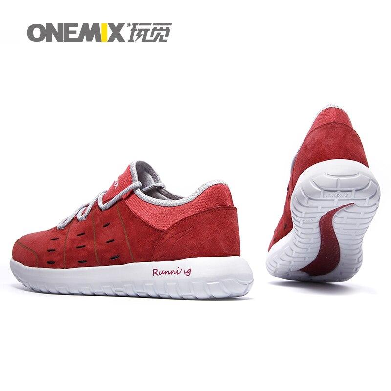zapatos corrientes onemix hombres transpirable otoño invierno athletic zapatos