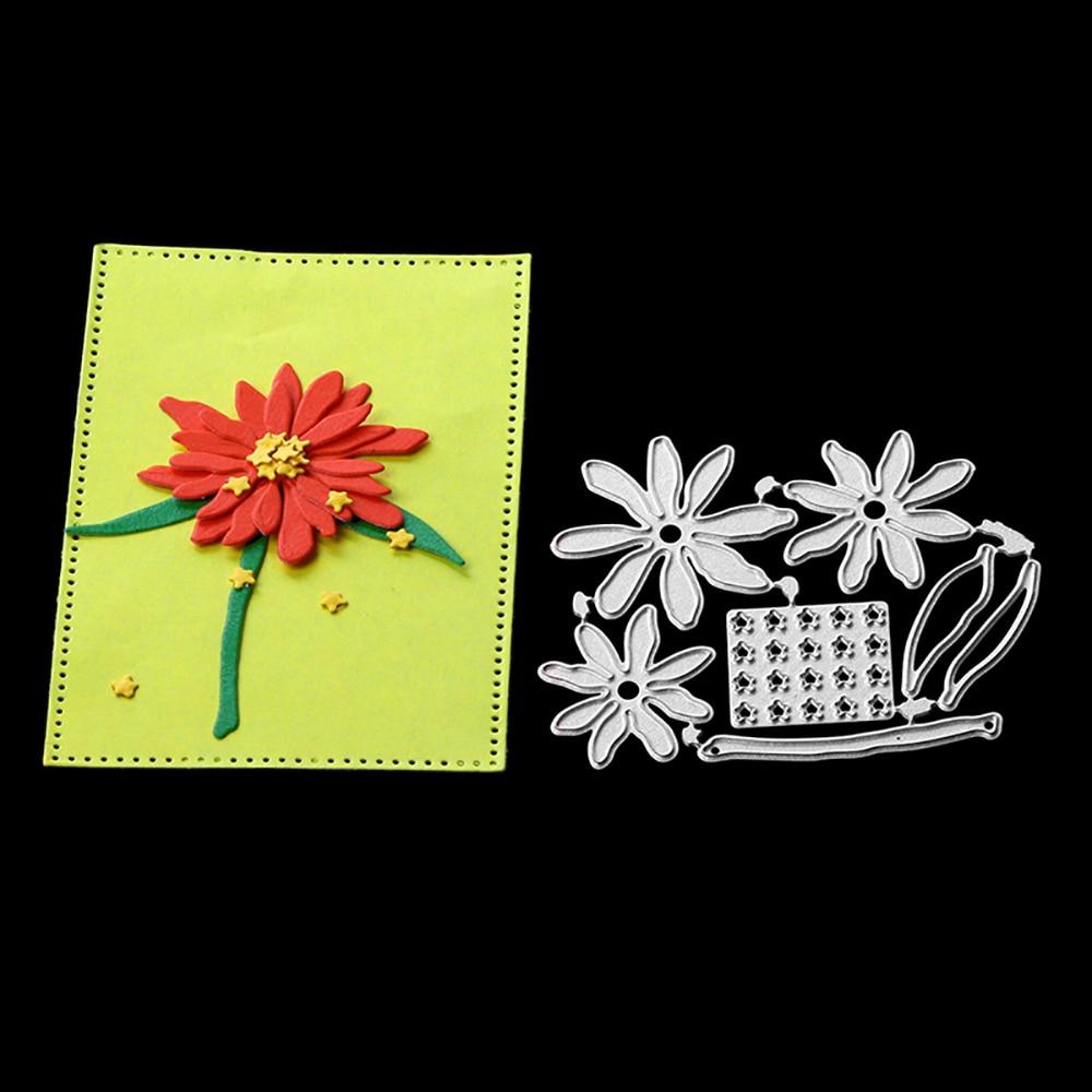 Chrysanthemum Flower Metal Cutting Dies Craft Die for Scrapbooking New 2018 Dies Cut Stamp Embossing Stencils Paper Cards Making