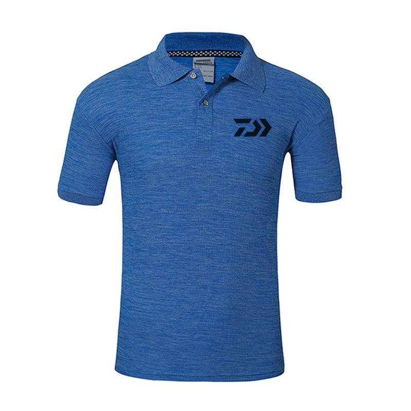 2018 nuevo DAIWA hombres ropa al aire libre ropa de pesca Anti-UV especial Wicking transpirable de manga corta Camisa de pesca