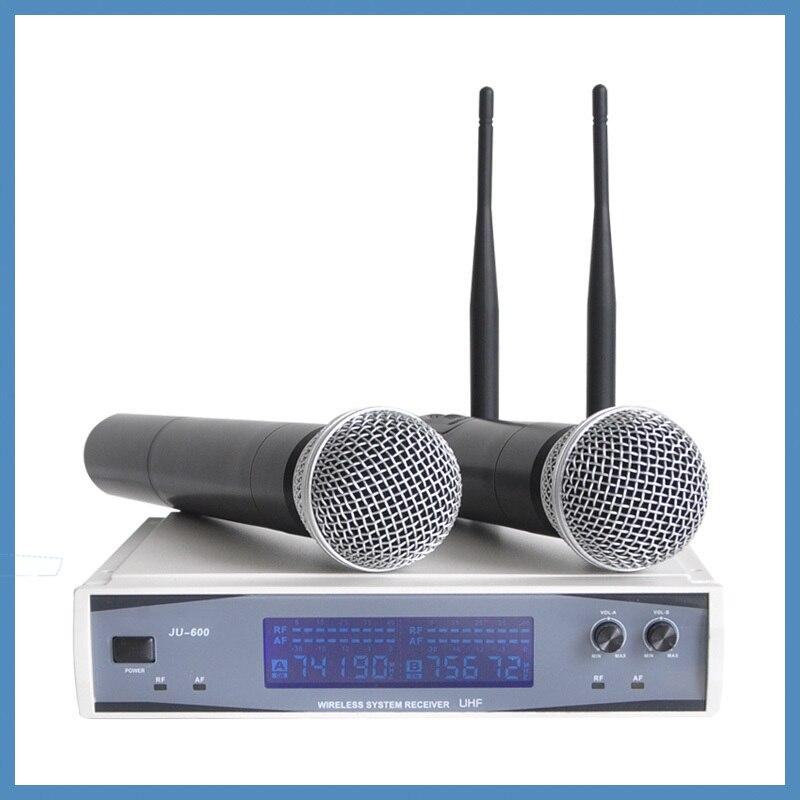 Dynamic Microphone Distance : professional uhf dynamic microphones lcd display 50m distance 2 channel handheld karaoke system ~ Russianpoet.info Haus und Dekorationen