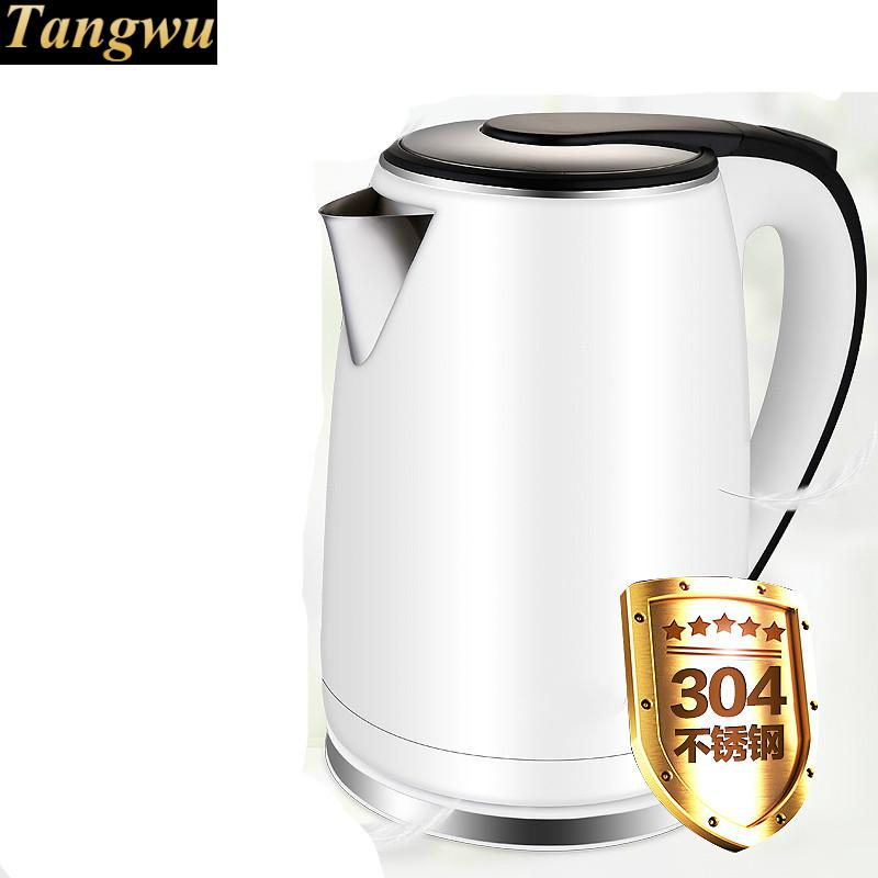 Electric kettle 304 stainless steel dormitory automatic power failure household quick kettles цена