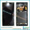 ЖК-экран с сенсорным экраном дигитайзер с сборки рамы полным набором для Nokia Lumia 830 Rm-984, Черный или Серебристый