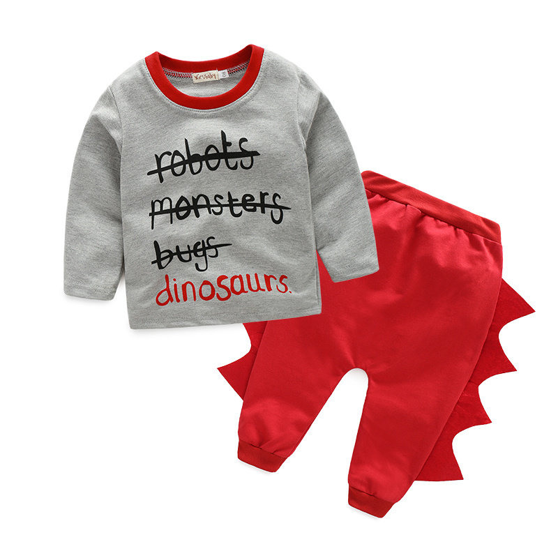 Baby Clothing Sets 2016 New Winter Baby Clothes Infant Clothes Letter T-shirt+Pants 2pcs Newbron Clothes