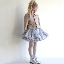 TUTU Skirt 2017 New Product Nylon Baby Girl Princess Tulle dance and Party Skirts for girls Children's Ballet 2-8Y