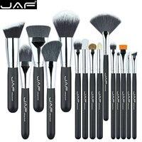 JAF Brand 15 Pcs Set Makeup Brushes 15 Pcs J1502SSY B Make Up Brush Set High