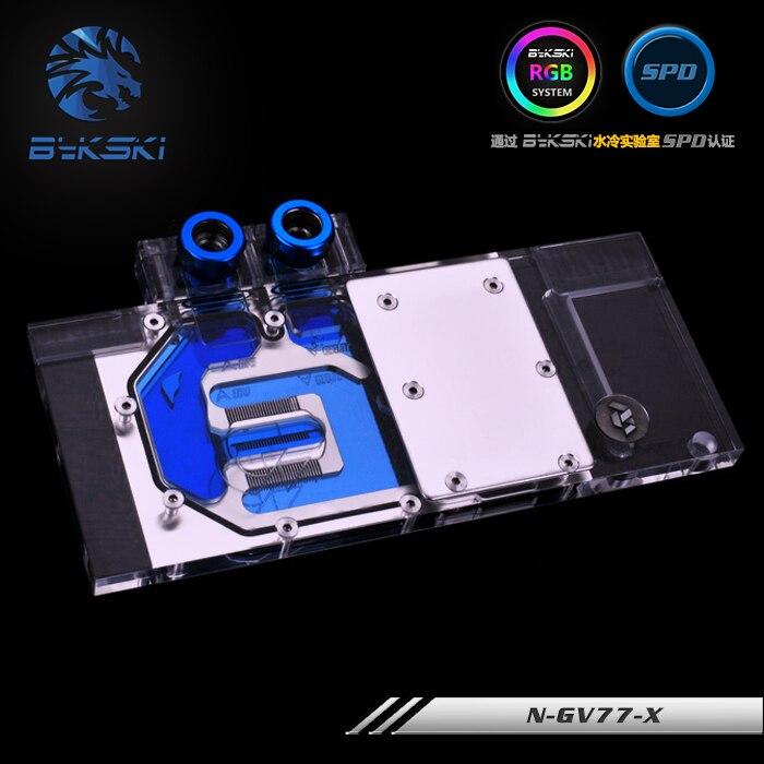 Bykski N-gv77-x Gi Gabyte Gv-n770oc Gv-n760oc Volledige Dekking Pmma Videokaart Waterkoeling Blok. Aantrekkelijk En Duurzaam