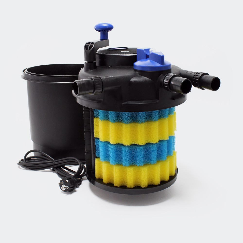 Fish tank external filter - Cpf 2500 Fish Tank Filter Bucket Aquarium External Filter Pond Fish Pond Filtration System Excluding Filter Materials In Pumps From Home Improvement On