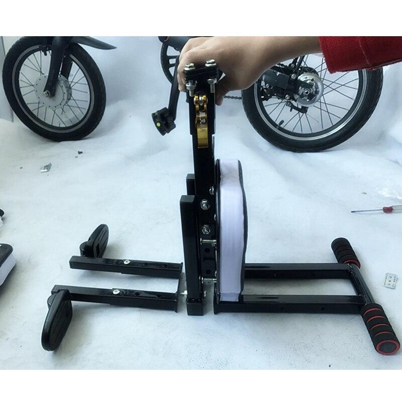 Bébé enfant vélo vélo chaise siège pour Xiaomi Mijia Qicycle EF1 vélo électrique pliable e bike selle enfants siège pliant chaise - 4