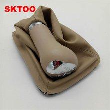 Skate para queda de poeira chery a5, conjunto de alavanca de câmbio, poeira e suporte/engrenagem bola