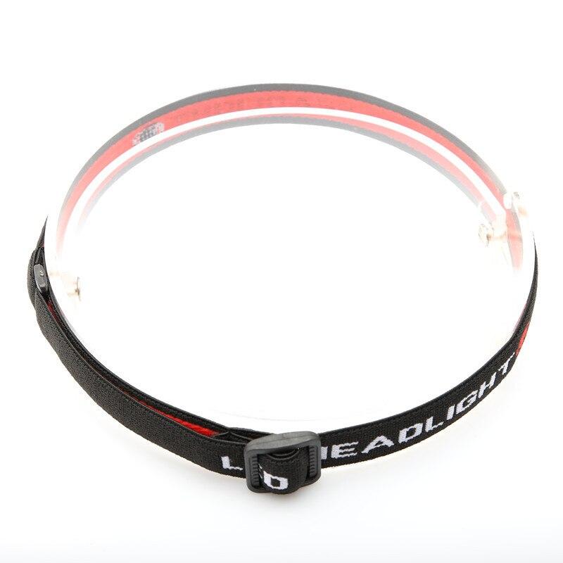 Mini Black Headlamp Headband Head Belt Head Strap Mount Holder For 18650 Headlight Flashlight Lamp Torch Accessories