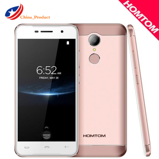 "Homtom HT37 Pro Double Speaker 4G Mobile Phone MTK 6737 5.0"" HD Android 7.0 3GB+32GB 13MP 3000mAh Fingerprint ID Smartphone"