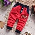 Pantalones del bebé Ropa de Los Muchachos 2016 Nueva Primavera Ropa Para Niños Muchachas de Los Muchachos Pantalones Harem 100% Pantalones de Algodón Bebé Envío Gratis