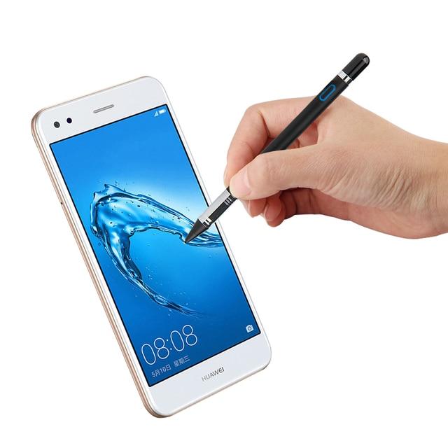 Активный стилус, емкостный сенсорный экран для Huawei Mate 10 Pro 9 8 7 P 6 P10 Plus P9 P8 P7 mate9 8, стилус, Искусственное перо 1,35 мм