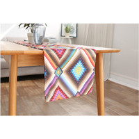 New Sale Table Runners Cotton Rectangle Korean Style Grey Color Dinner Coffee Tables Flag Geometric Home