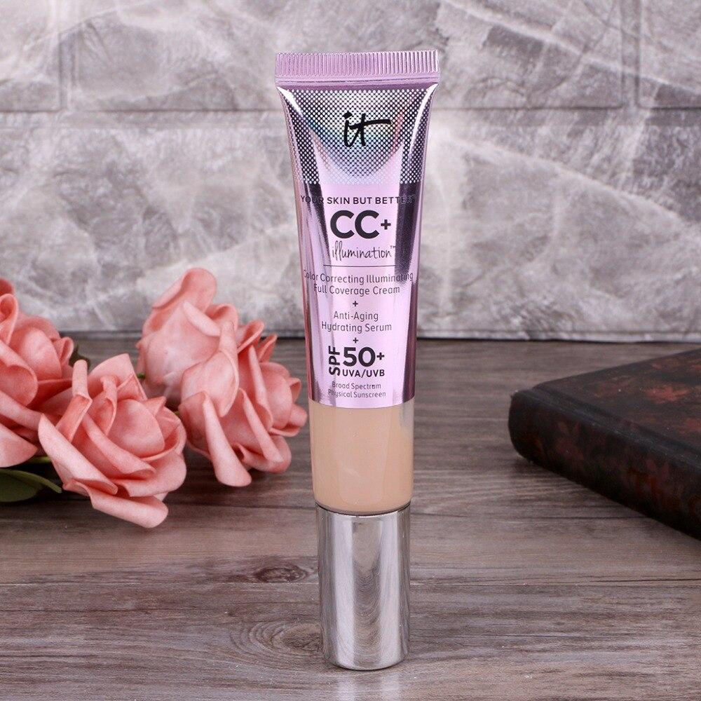 1PC Strong Isolation Skin Whitening Moisturizing Isolation Sunscreen Concealer