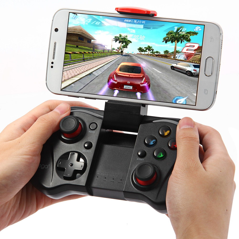 IPEGA PG-9033 PG 9033 Wireless Gamepad Bluetooth Game Controller with Holder for Android/ iOS Tablet PC Smartphone TV Box