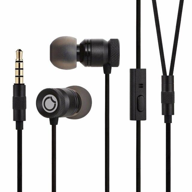 GGMM Nightingale Earphones with Mic Metal Earphone Housing 3.5mm HD HiFi Bass Stereo Earbuds Earphone for Phone Headset Gaming