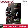 Colorful iGame GTX1060 U-3GD5 TOP 1594-1809/8008MHz 3G 192bit Gaming Video Graphics Card 19Feb13
