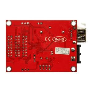 Image 3 - Huidu hd u60 P10 einzigen farbe und dual farbe led programmierbare zeichen controller, u disk Kommunikation Digital LED Moving Zeichen