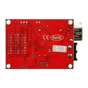 Image 3 - Huidu hd u60 P10 単一色およびデュアルカラー led プログラマブルサインコントローラ、 u ディスク通信デジタル LED 移動看板