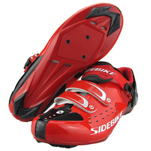 SIDEBIKE Scarpa Da Ginnastica Shoes Anti-slip Sapatilhas Ciclismo Road Racing Sneaker Sport Shoes MTB Bike Bicycle Cycling Shoes