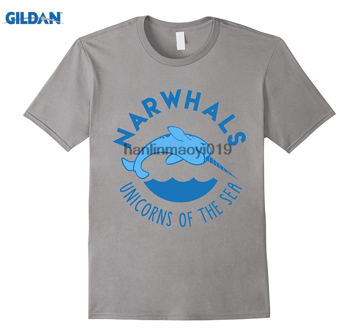 GILDAN Narwhals Unicorns of the Sea Shirt Funny Nerdy Gift T