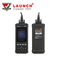 LAUNCH CReader 7001 Full OBDII/EOBD Code Reader Diagnostic Functions Scanner/Scan Tool with Data Record and Replay