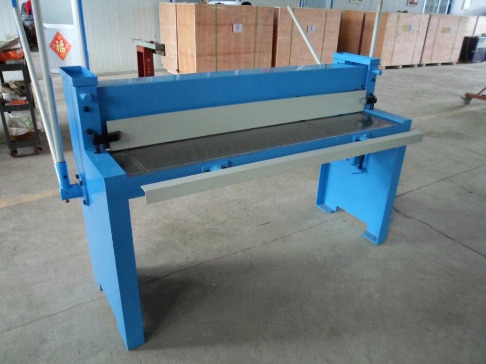 HQ01-1.5*1500 hand shearing machine cutting machinery tools pbs 7 hand cutting machine bar section shear versatile shearing machinery tools