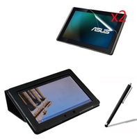 4in1 Luxury Magnetic Folio Stand Leather Case Cover 2x Screen Protector 1x Stylus For ASUS MeMO